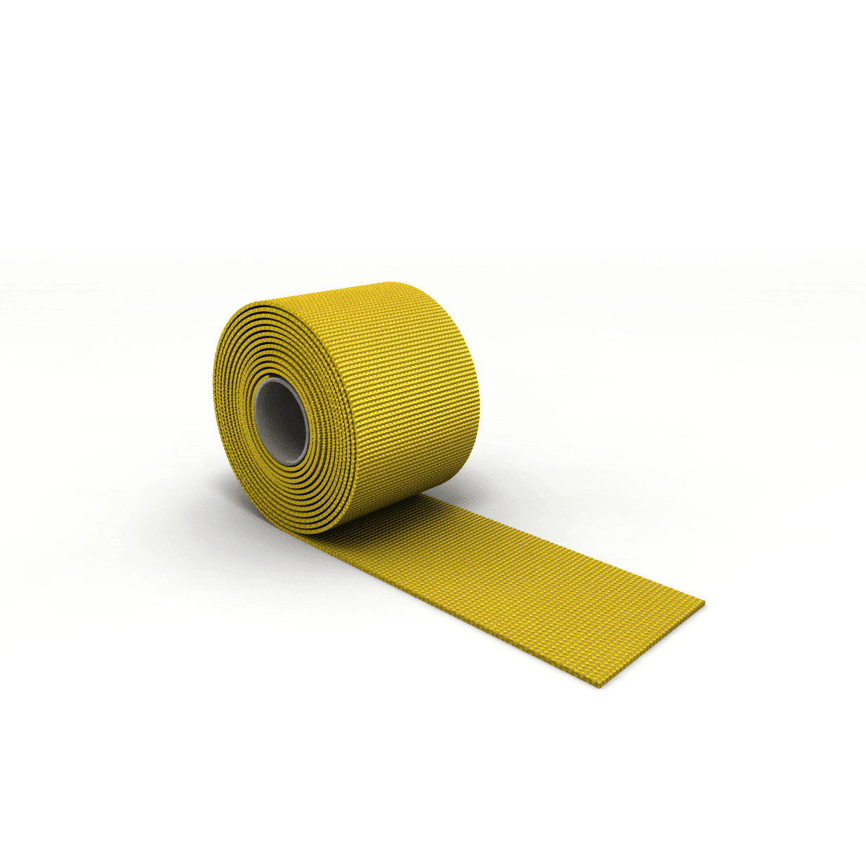 Gurtband für Rodelsitz gelb