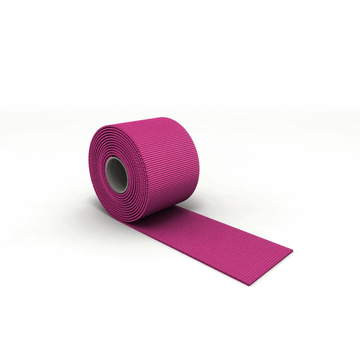 Gurtband für Rodelsitz pink