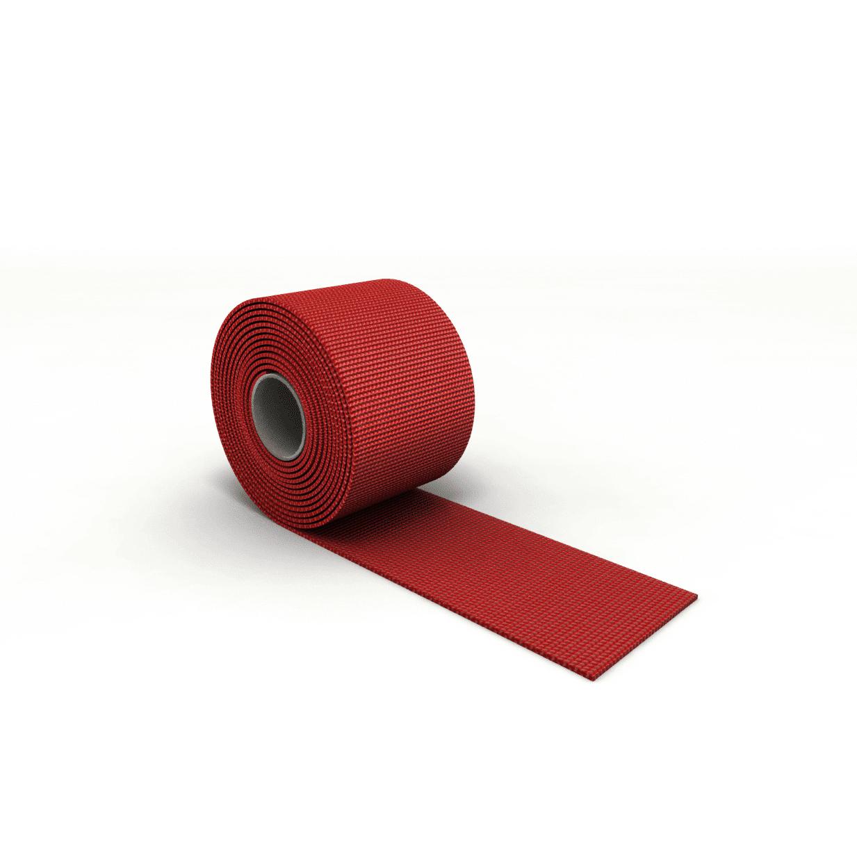Gurtband für Rodelsitz rot