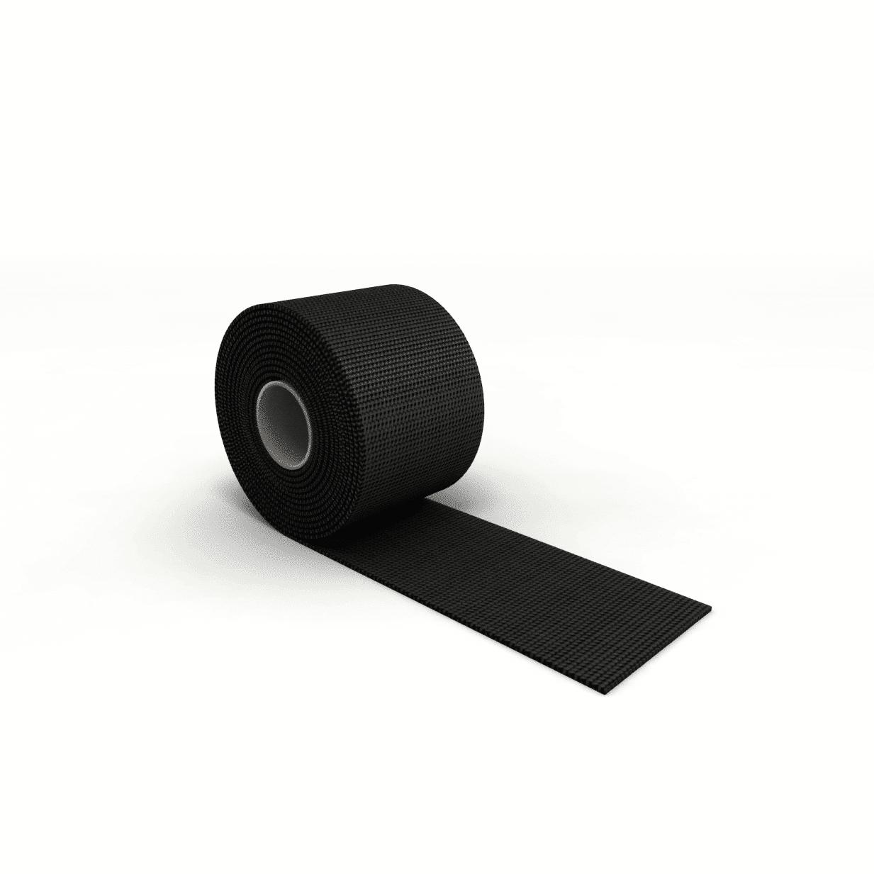 Gurtband für Rodelsitz schwarz